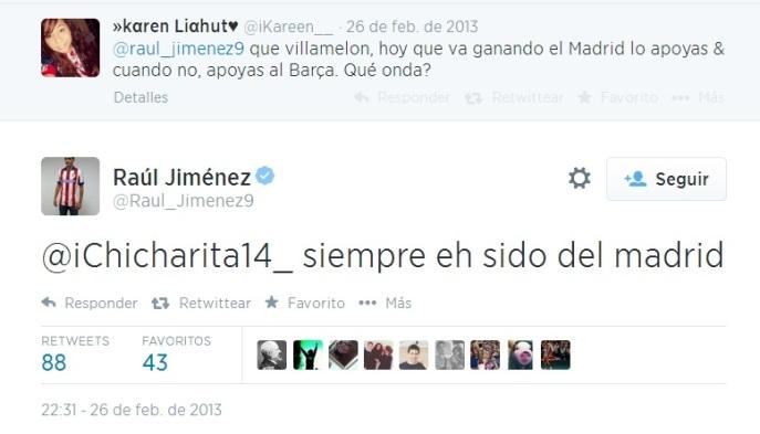 Raúl Jiménez pregunta